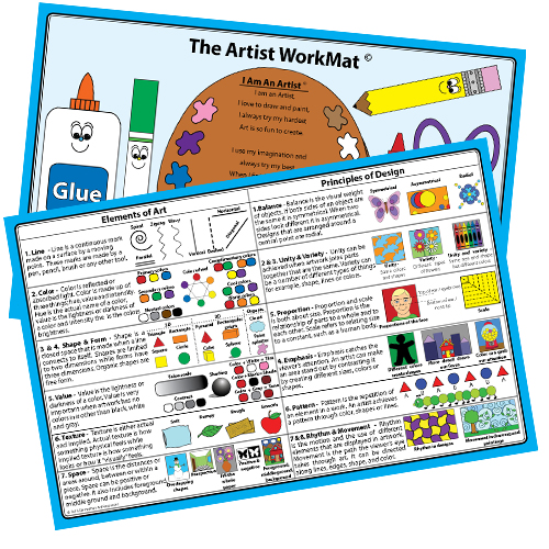 The Artist WorkMat Placemat