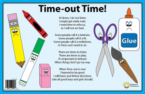 Time-Out Time Placemat