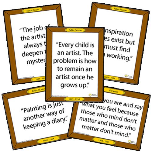 100 Inspirational Art Quotes from Famous Artists