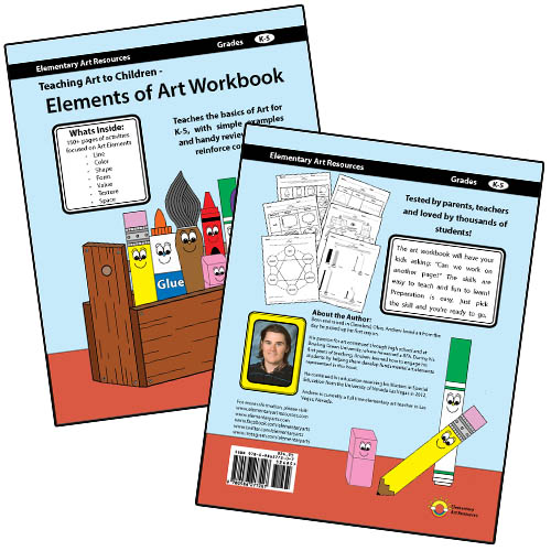 Teaching Art to Children - Elements of Art Workbook