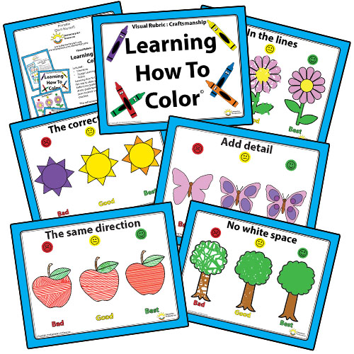 Kinder Learning How To Color Thumbnail