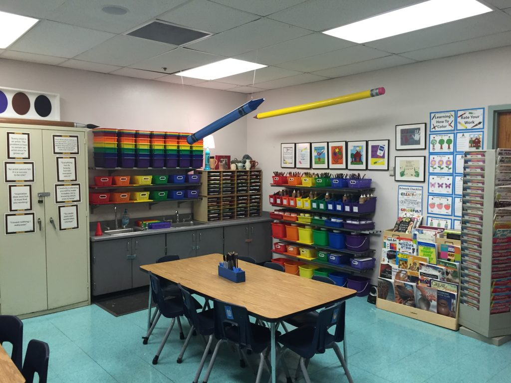Itu0027s Easy For The Art Room To Be Chaotic Especially When Youu0027re Not  Organized Or Have A Good Classroom Management! Here I Will Provide Some  Tips And Tricks ...