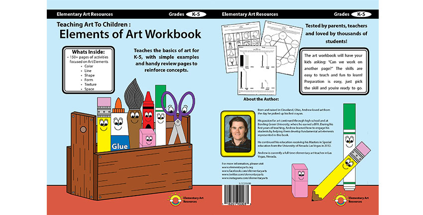 Classroom Design Jobs ~ Elements of art book elementary resources